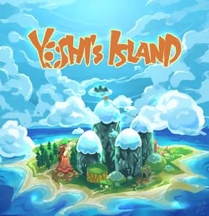 Yoshi's island - prints available on redbubble!