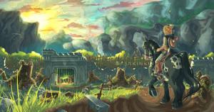 Fort Hateno - Zelda BotW {with video}