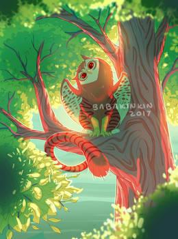 Tabby Owl Griffin