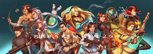 Video Games Banner Commission