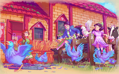 Marnie's Ranch by BabanIllustration