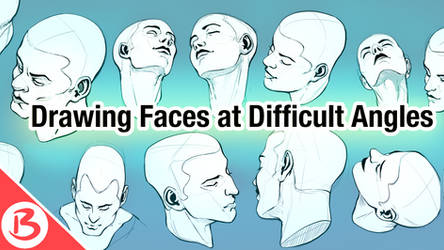 Drawing Faces at Difficult Angles - Video Tutorial