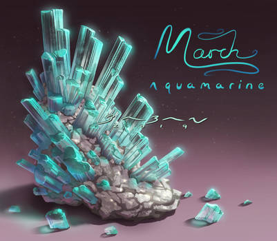 Birthstones - Aquamarine