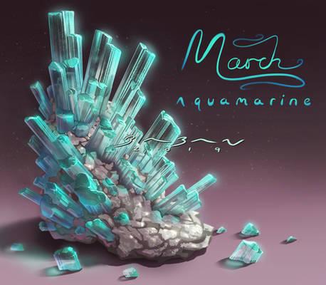 Birthstones - Aquamarine