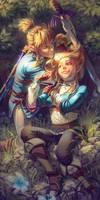 Zelda's Haircut {Plus Speedpaint}