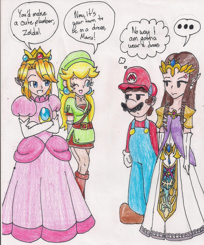 Famous hentai artwork princess peach too much