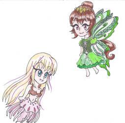 Chibi Jella and Jenifer by LilacPhoenix