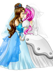 Newlywed Brides by LilacPhoenix