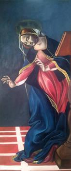 Master Copy - Botticelli's Annunciation