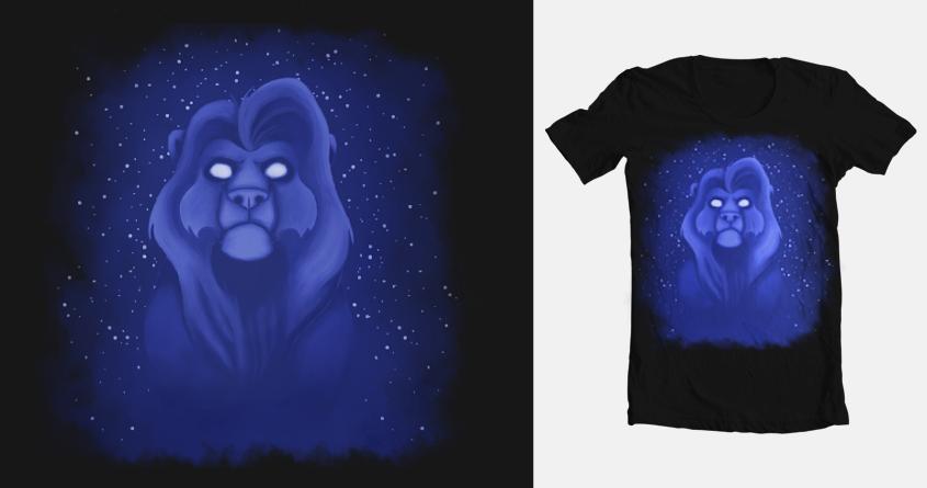 Lion king threadless - Mufasa final look by SuperGhostDuck01