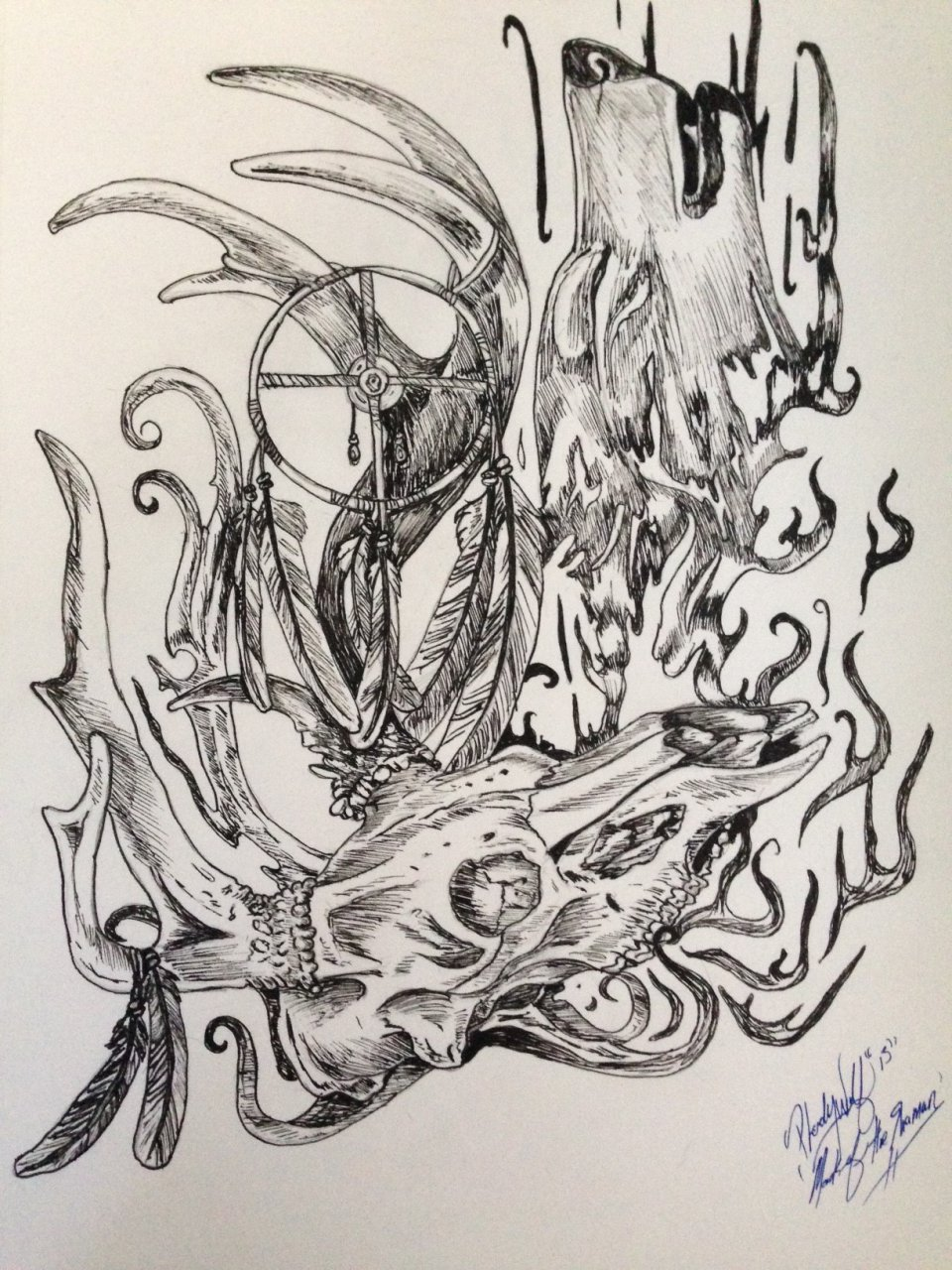 mark of the shaman by pladywolf82