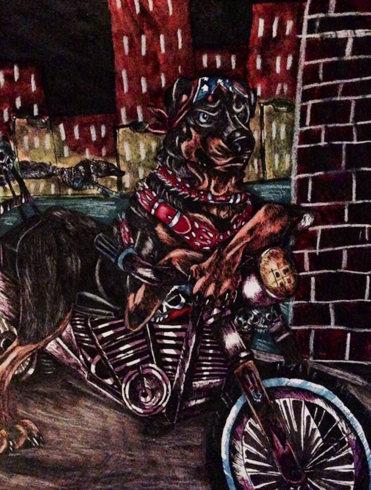 night ride by pladywolf82