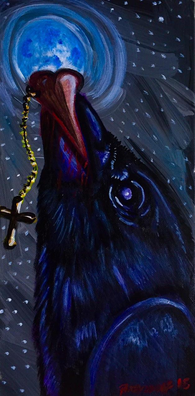 raven heart by pladywolf82
