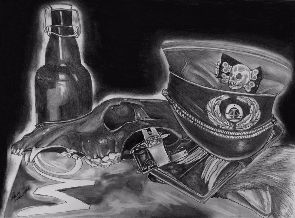tattoo still life by pladywolf82