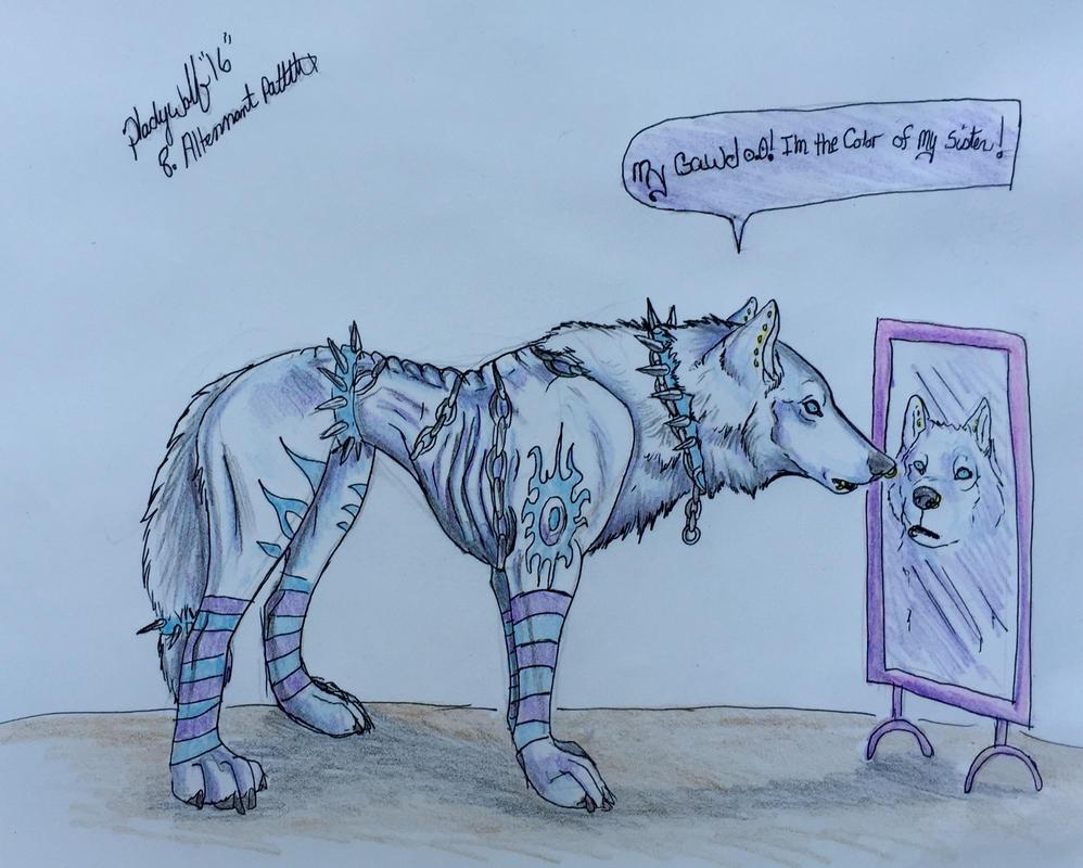 Day 8 by pladywolf82