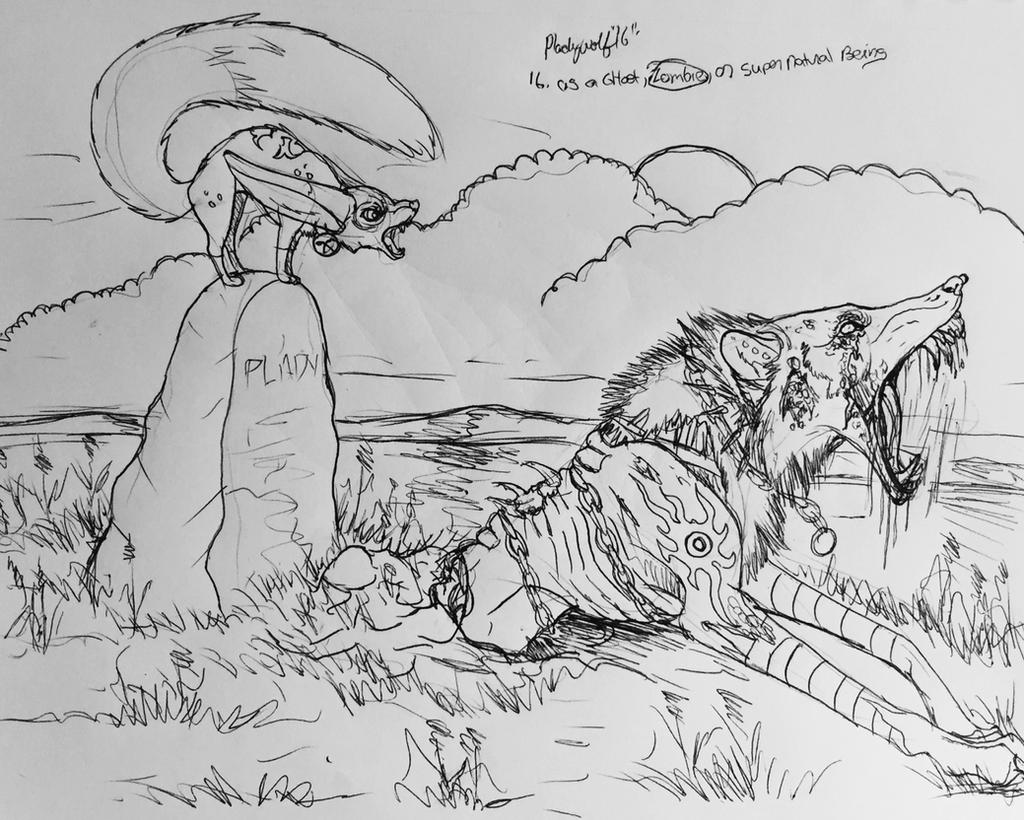 Day 16 by pladywolf82