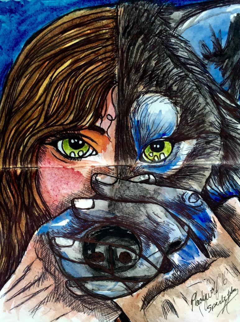 Spirit totem by pladywolf82