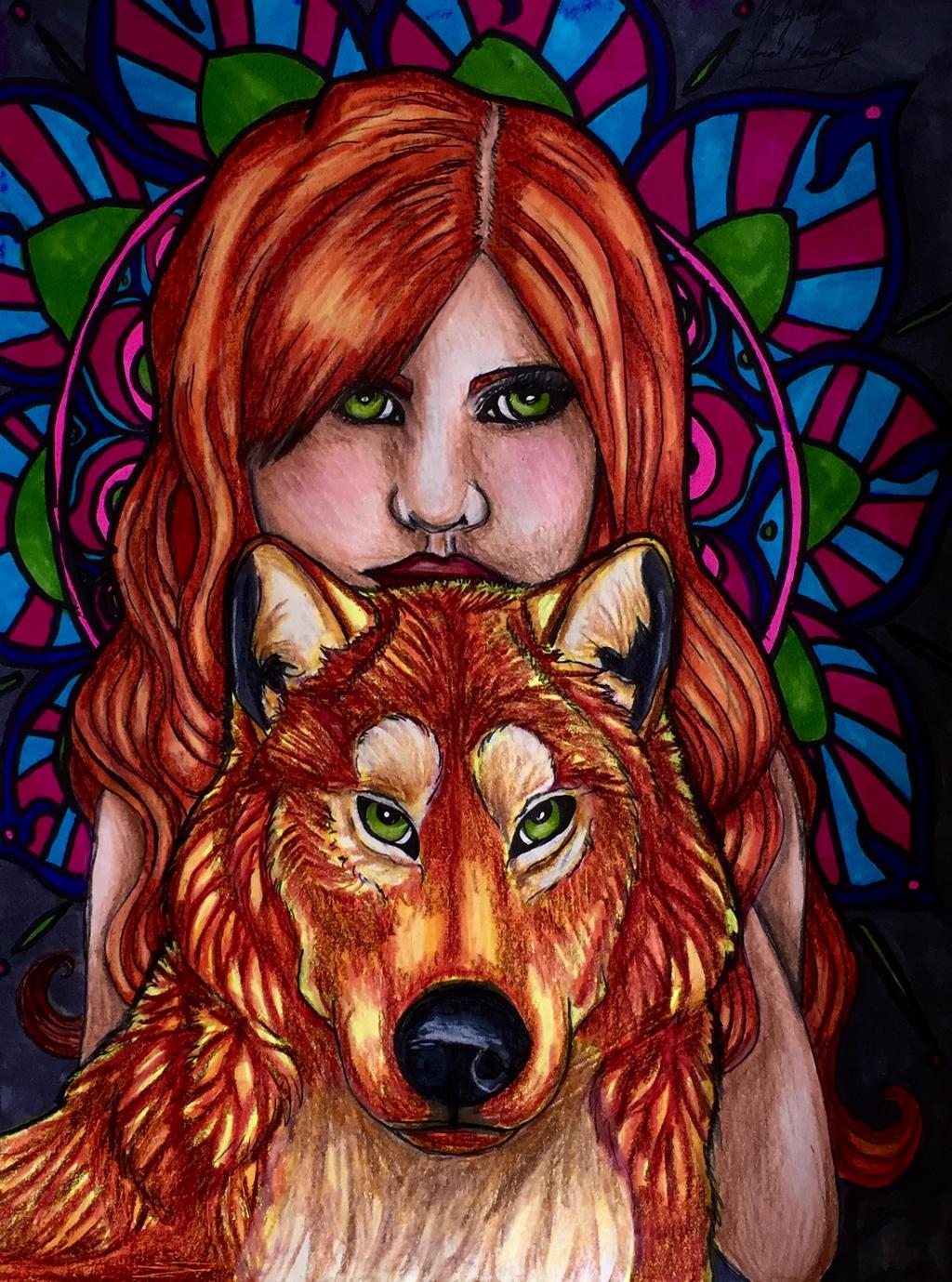 Feral beauty by pladywolf82