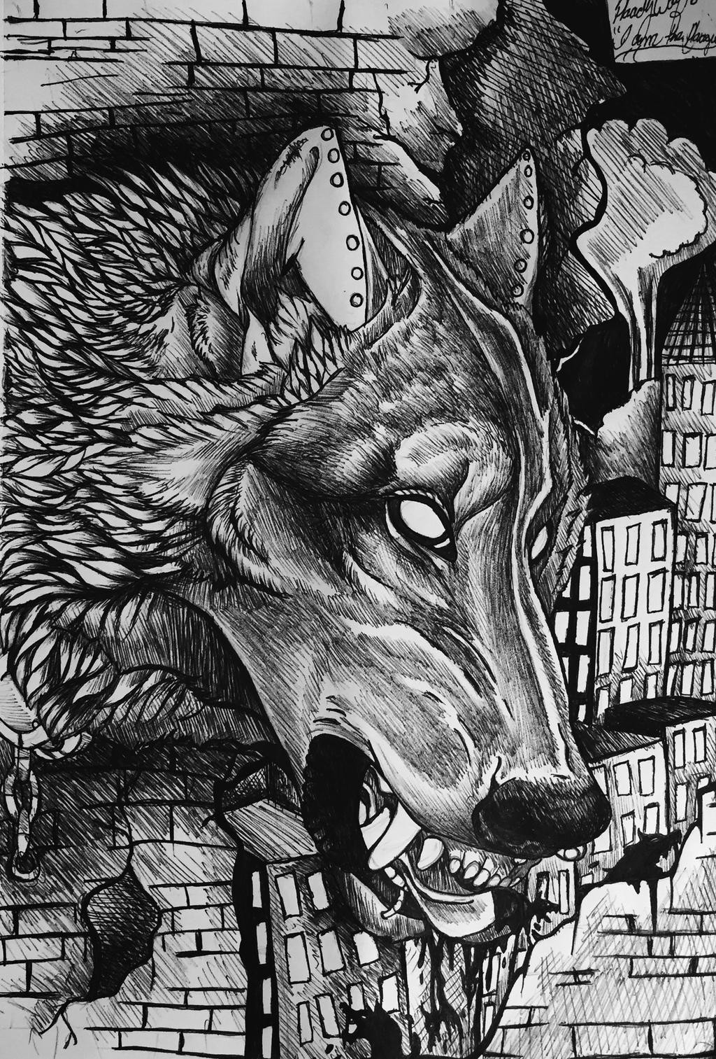 I am the plague by pladywolf82