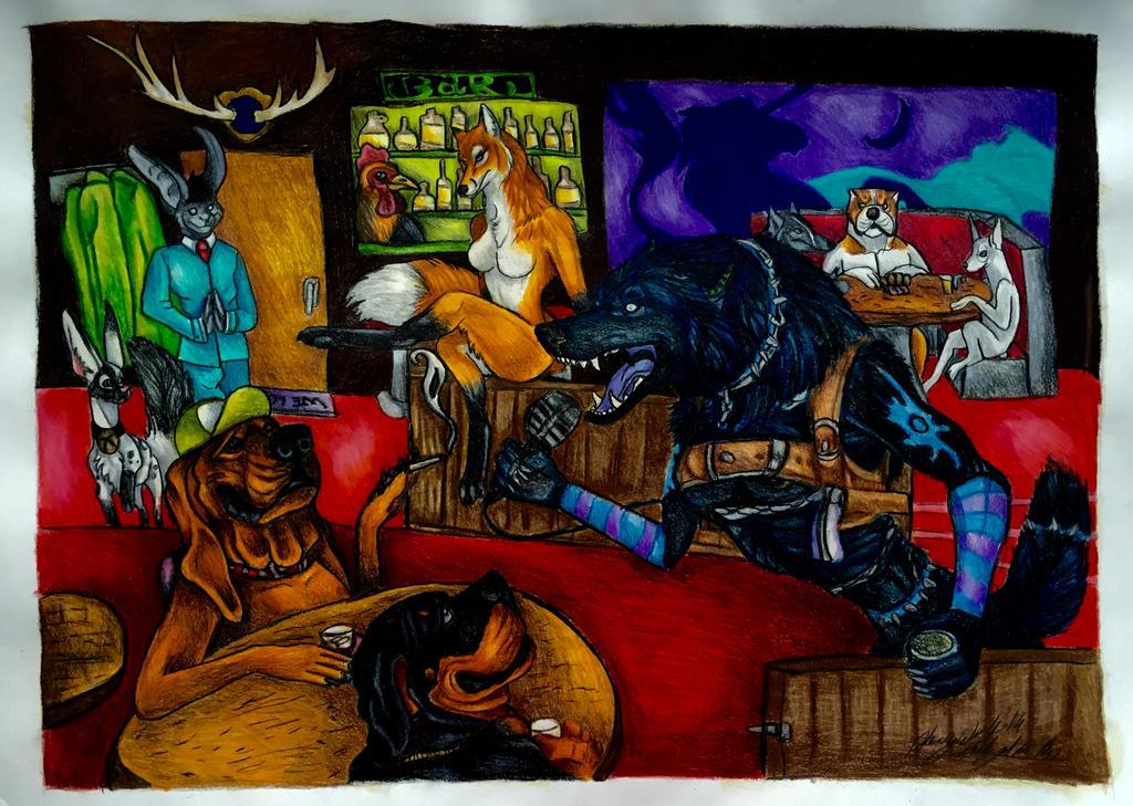Bourbon by pladywolf82