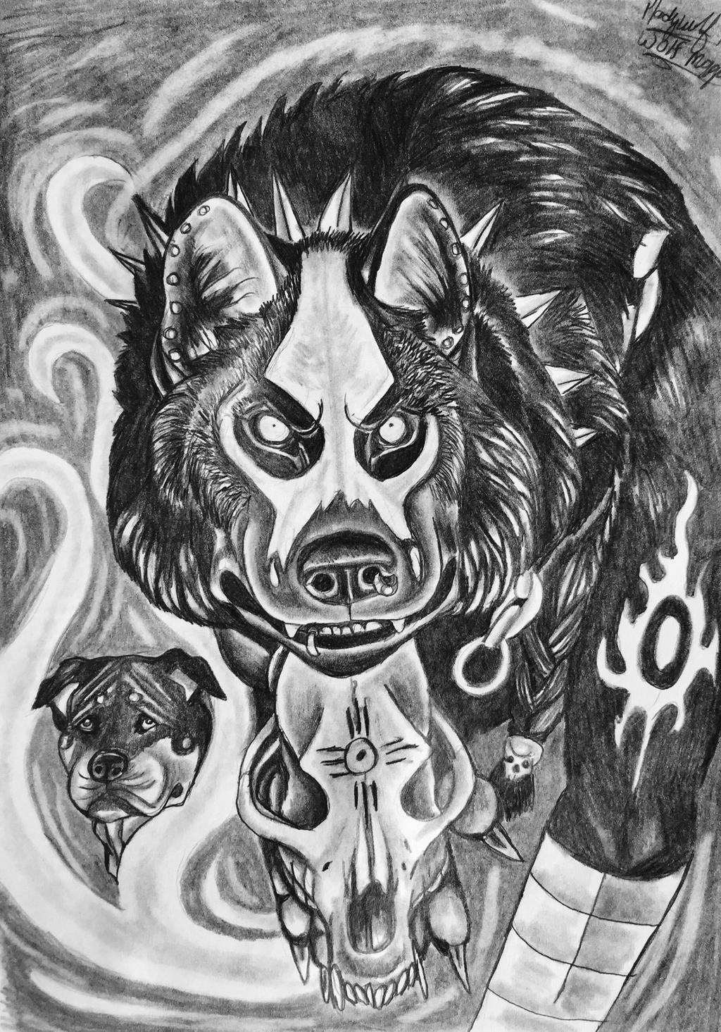 Wolf magic by pladywolf82