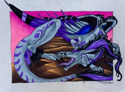 Dragon by pladywolf82