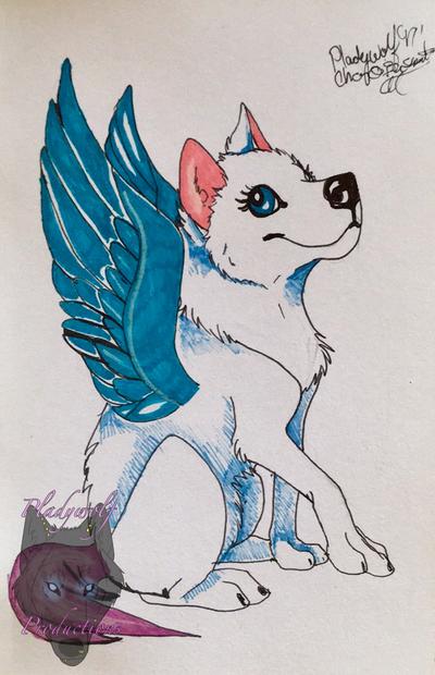 Ice spirit  by pladywolf82