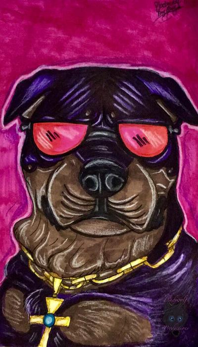 Top dog by pladywolf82