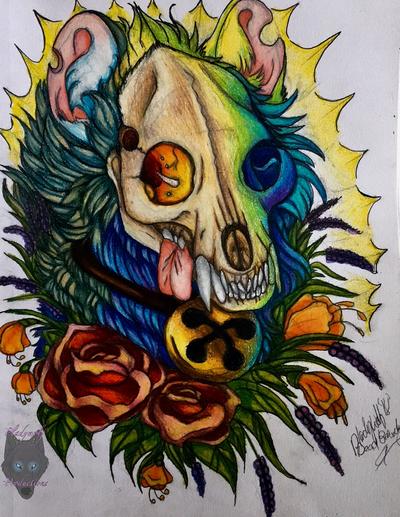 Dead beauty  by pladywolf82