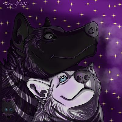 Siblings  by pladywolf82