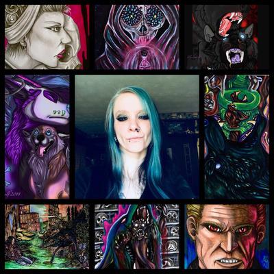 Art vs artist  by pladywolf82