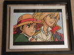 Howl and Sophie Cross Stitch