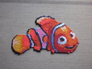 Nemo Bead Sprite by Karma-Pudding