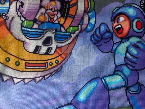 Mega Man 7 Cross Stitch