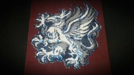 Dragon Age - Grey Warden Heraldry - Bead Art