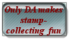 Only DA stamp by ShadowXveronica