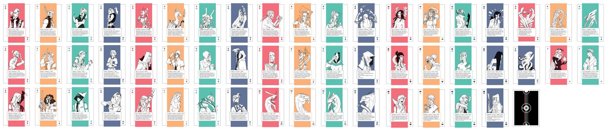Card Game - Thealian Edition by Daemon-of-Thealia