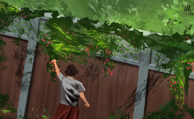 Flower Fence by MARTO319