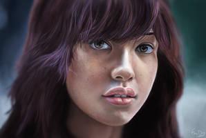 Stranger 7 - painting