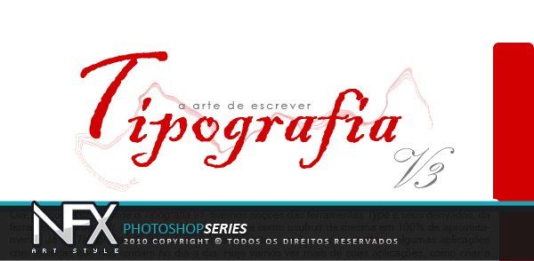 Tipografia parte 3 by nfxtutoriais