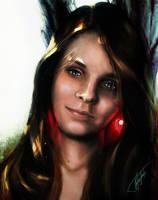 Maja portrait