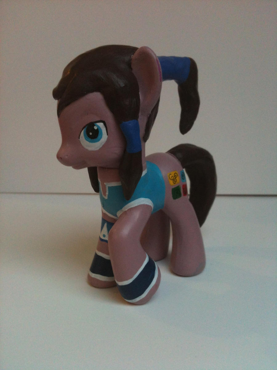 Legend Of Korra Toys : Korra pony custom toy by anananatree on deviantart
