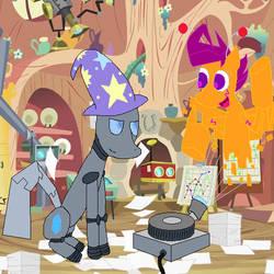Ask Pinkie Tai - Best Robot Friends by DarkfireTaimatsu