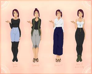 OP   April Pre-Timeskip Outfits [3/4]