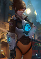 Overwatch Tracer by iaihoshi