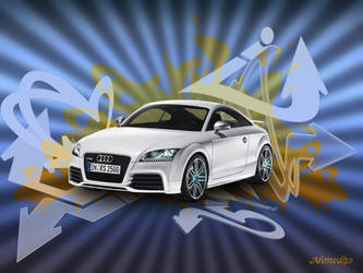 Audi TT RS Wallpaper by ahmed92
