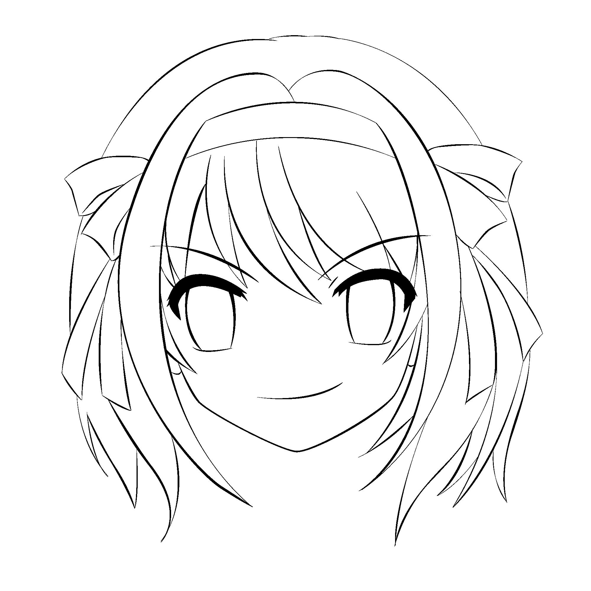 Haruhi Outline by AnimeEnthusiast on DeviantArt