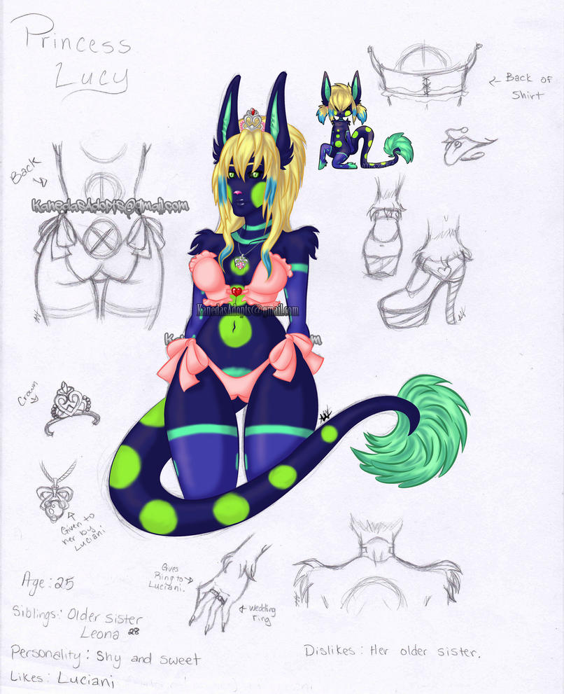 Princess Lucy by Kanedas-Adopts