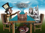 Cheshire Cat,s grin creation by vmoldavsky