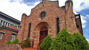 Inner city Church by iskarlata